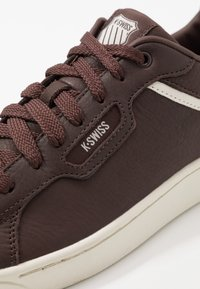 K-SWISS - CLEAN COURT - Trainers - french roast/egret - 5