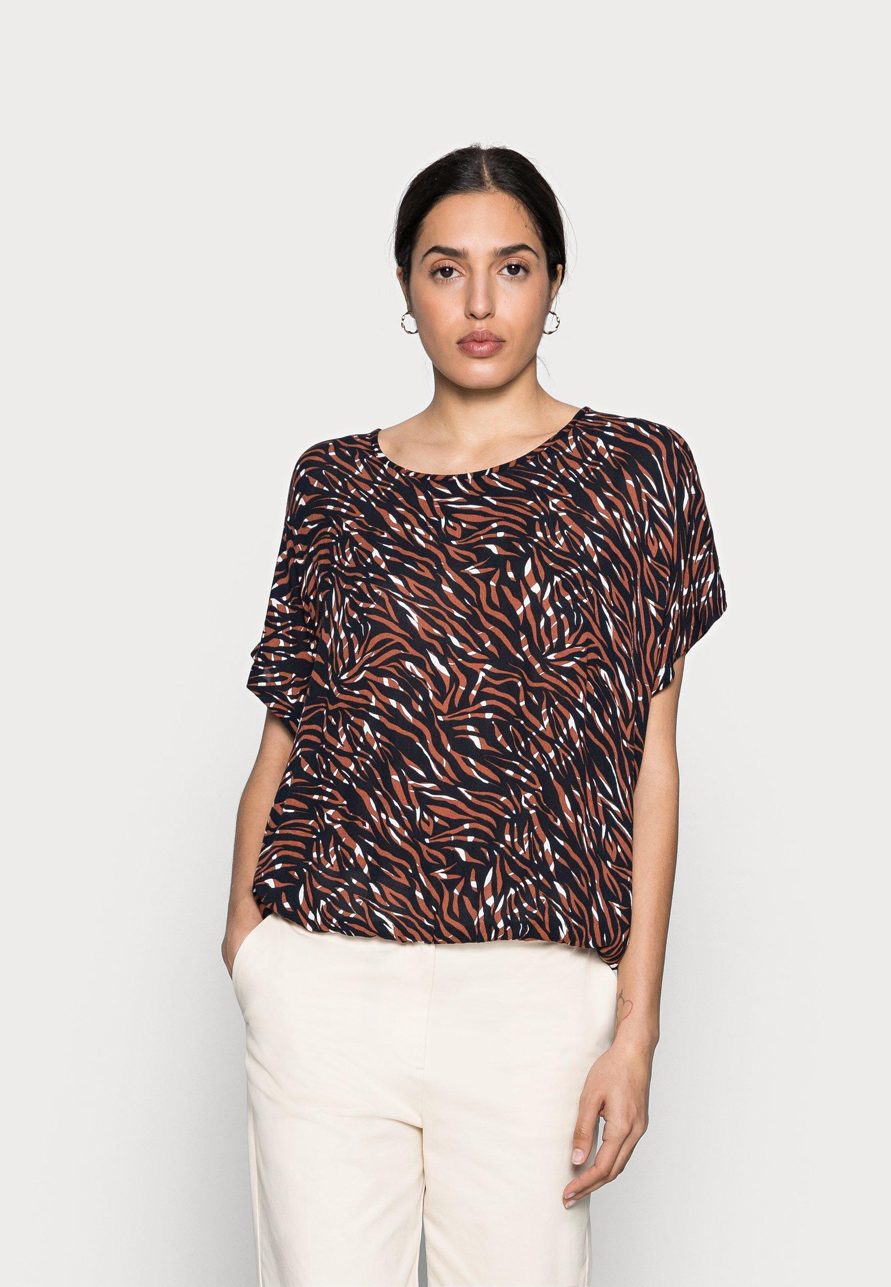 Women ZABIA BLOUSE - Print T-shirt