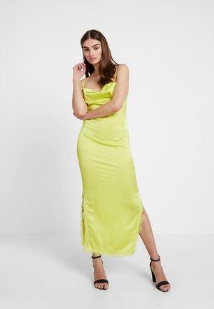 SIDE SPLIT DRESS - Robe longue - limeade