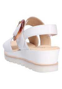 Gabor - Wedge sandals - white - 5