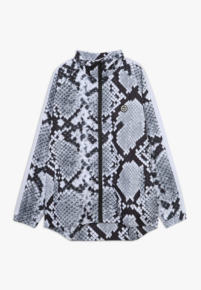 KIDS TRACK JACKET MONO SNAKE - Light jacket - grey