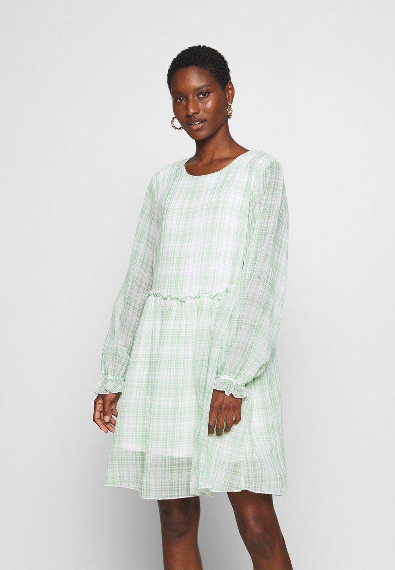 Love Copenhagen - EDWINA DRESS - Kjole - white/green