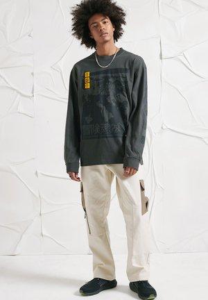 UNISEX SURVIVALIST GRAPHIC - Sweatshirt - vintage black