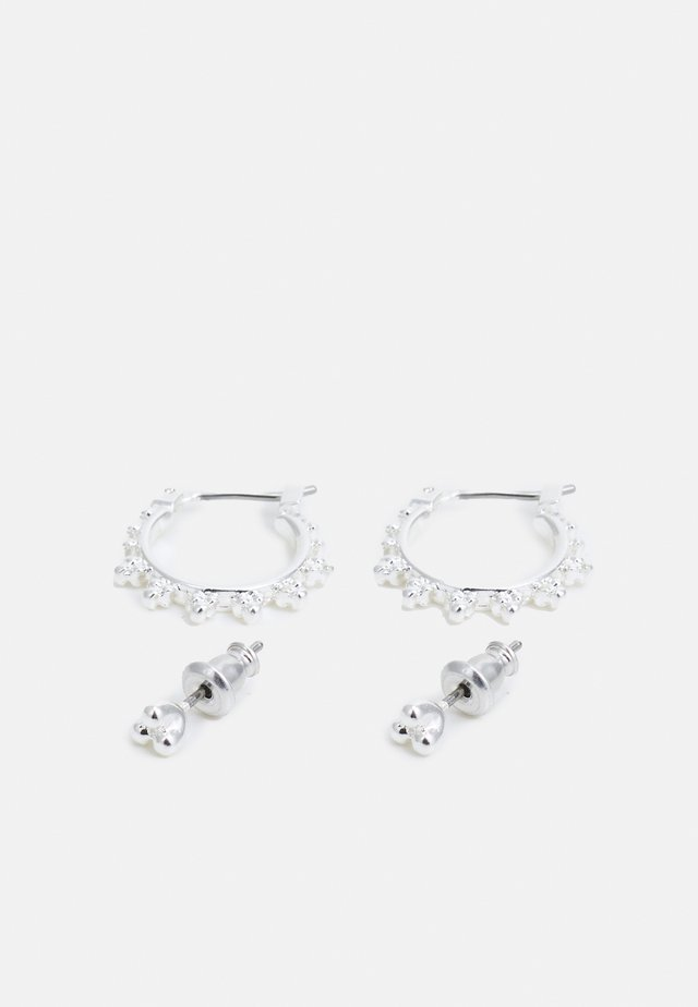 EARRINGS KATE 2 PACK - Korvakorut - silver-coloured