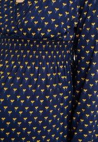 JoJo Maman Bébé - BUD TUNIC DRESS - Žerzejové šaty - navy - 6