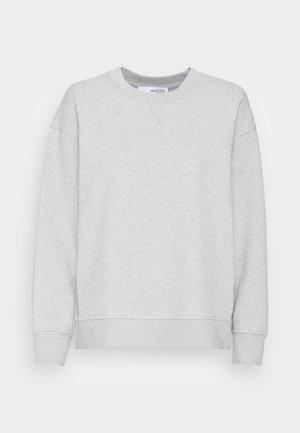 SLFSTASIE SWEATNOOS - Sweatshirt - light grey melange