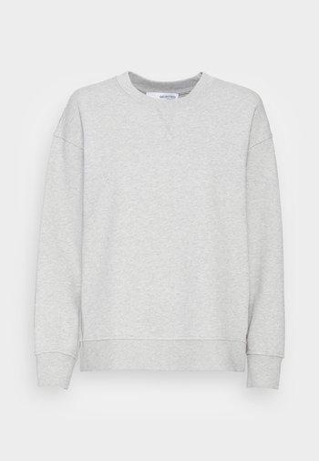 SLFSTASIE SWEATNOOS - Mikina - light grey melange