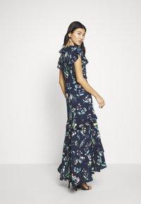 Banana Republic - VNECK HI LOW - Maxi šaty - navy floral - 2