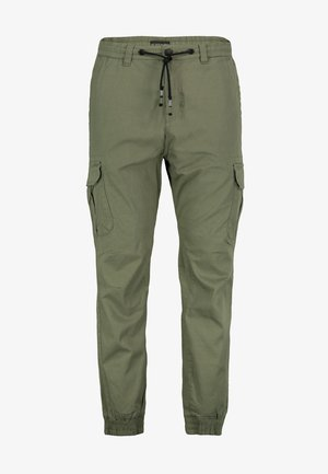 Cargo trousers - dark-green