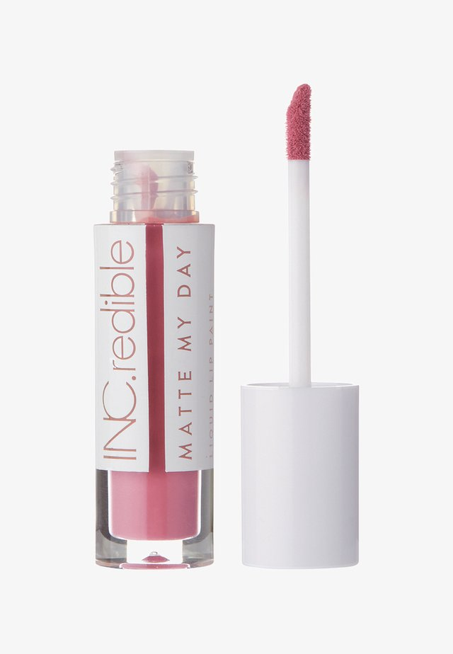 INC.REDIBLE MATTE MY DAY LIQUID LIPSTICK - Liquid lipstick - 10060 strong not skinny