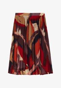 Sandwich - A-line skirt - bordeaux - 3