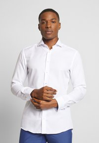 Eterna - SLIM FIT - Shirt - white - 0