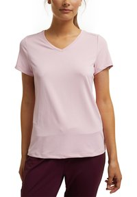 Esprit Sports - Basic T-shirt - light pink - 4