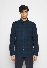 Pier One - Shirt - dark blue/teal - 0