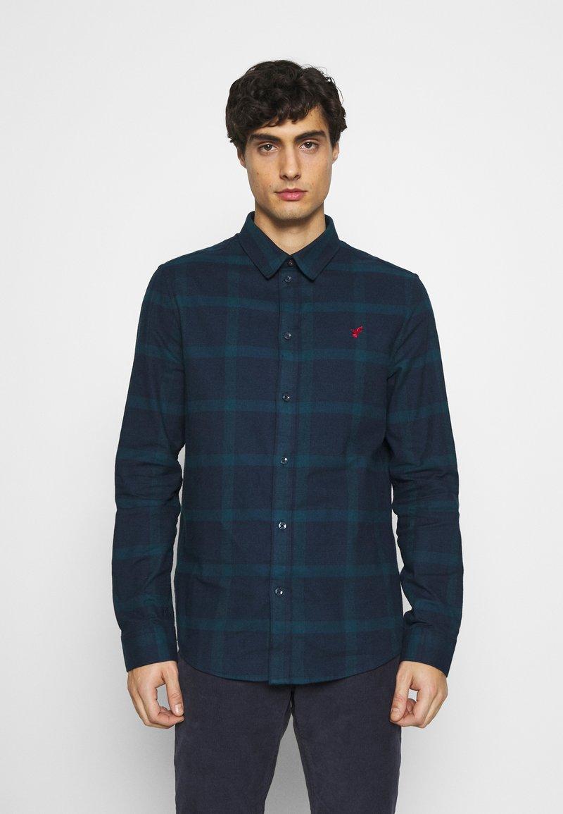 Pier One - Shirt - dark blue/teal