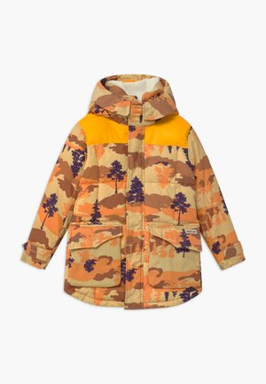 PADDED - Winterjas - brown/orange