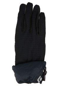 Black Diamond - WIND HOOD GRIDTECH GLOVES - Gloves - black - 3
