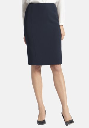 A-line skirt - dunkelblau