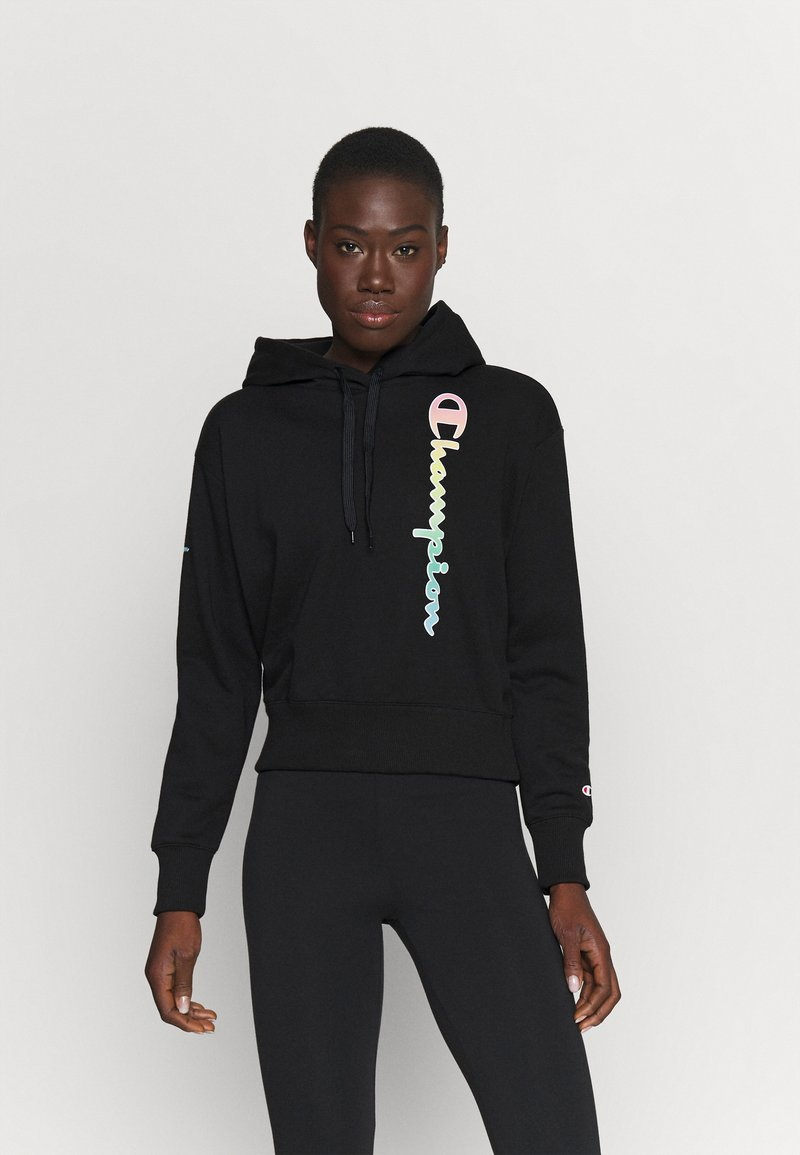 Champion - HOODED - Sweatshirt - black