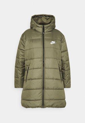 CLASSIC - Abrigo de invierno - medium olive/white