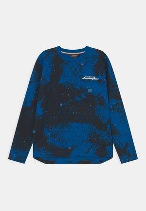 LONG SLEEVE ARTISTIC - Långärmad tröja - blue