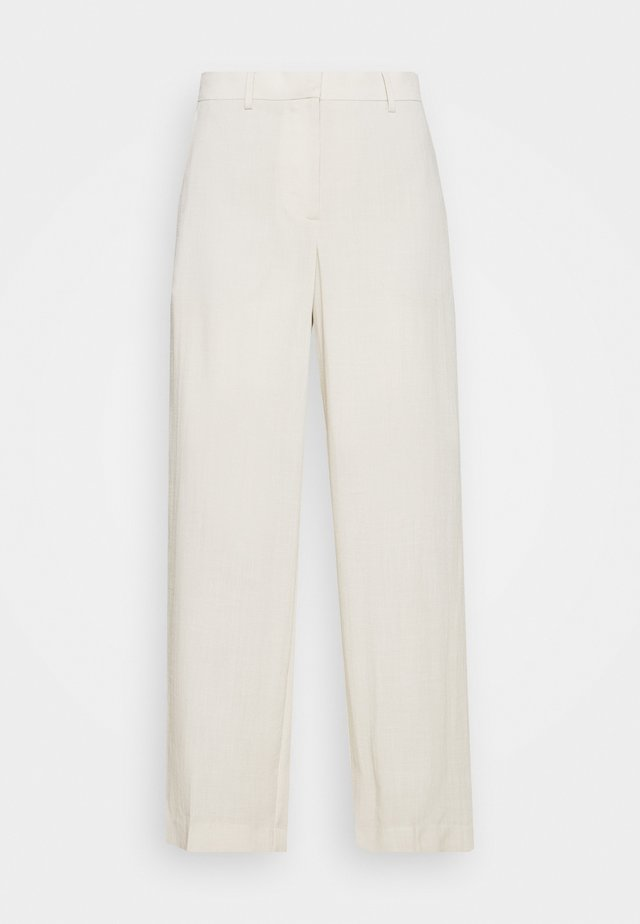 MONO TROUSER - Pantalon classique - solid beige