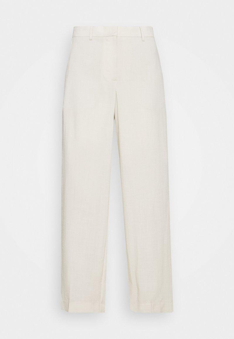 Weekday - MONO TROUSER - Pantalon classique - solid beige