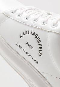 KARL LAGERFELD - KAPRI MAISON LACE - Trainers - white - 5