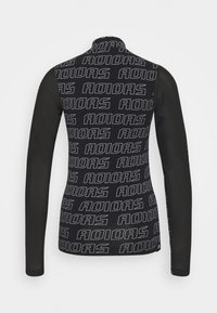 adidas Performance - Long sleeved top - black/white - 5