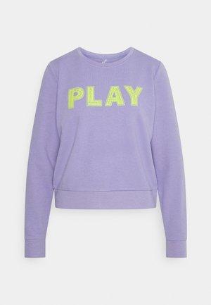 ONPADAR O NECK - Sweatshirt - sweet lavender/evening primrose