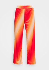 HOSBJERG - CISALO PANTS - Kalhoty - red fade - 3