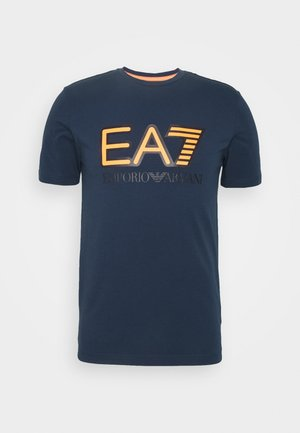 T-Shirt print - navy blue