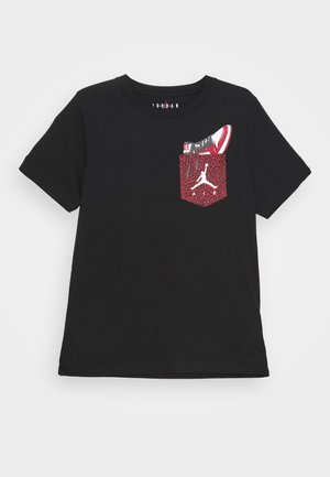 POCKET - Print T-shirt - black