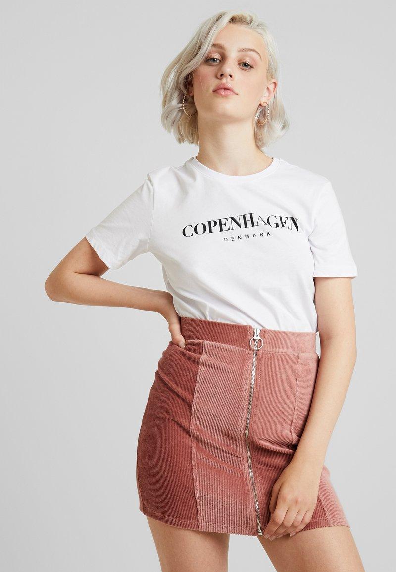 Even&Odd - T-shirt print - white