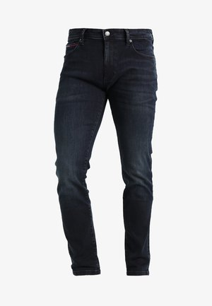 SKINNY SIMON - Džíny Slim Fit - cobble black