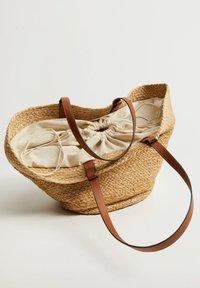 Mango - Shopping Bag - beige - 1