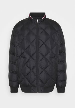 TWO TONES PADDED - Bomber Jacket - black