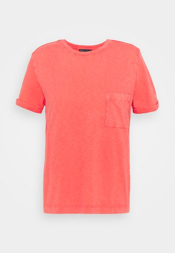 AUTH POCK TEE - T-shirts basic - red