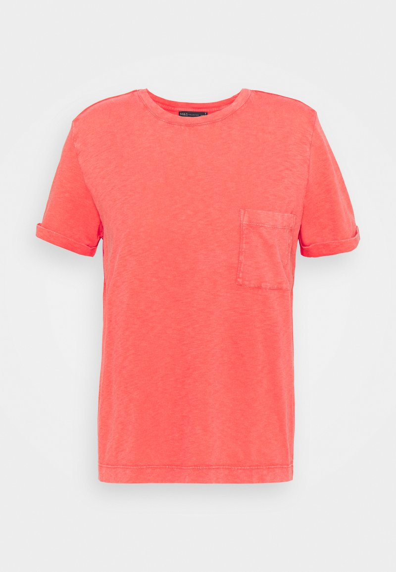 Marks & Spencer London - AUTH POCK TEE - T-shirts - red