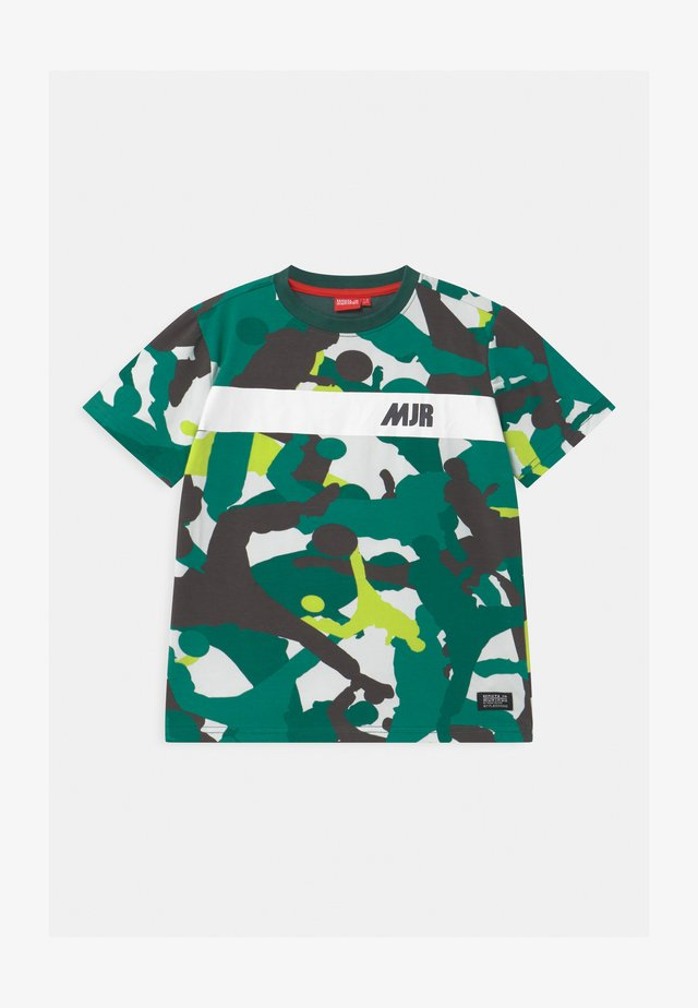 TAYO UNISEX - T-shirt imprimé - mallard green
