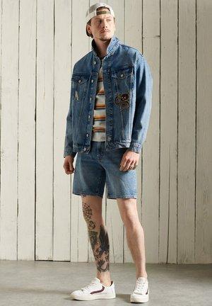 Denim jacket - fresno blue repair