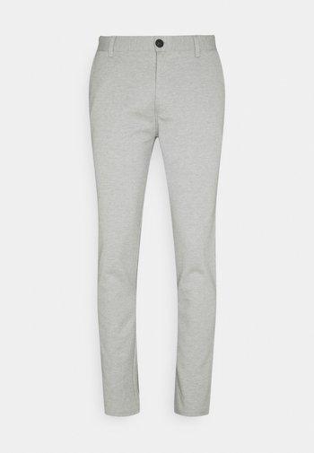 PANTS - Pantalones - light grey melange