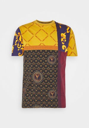 BLOCK - Print T-shirt - orange