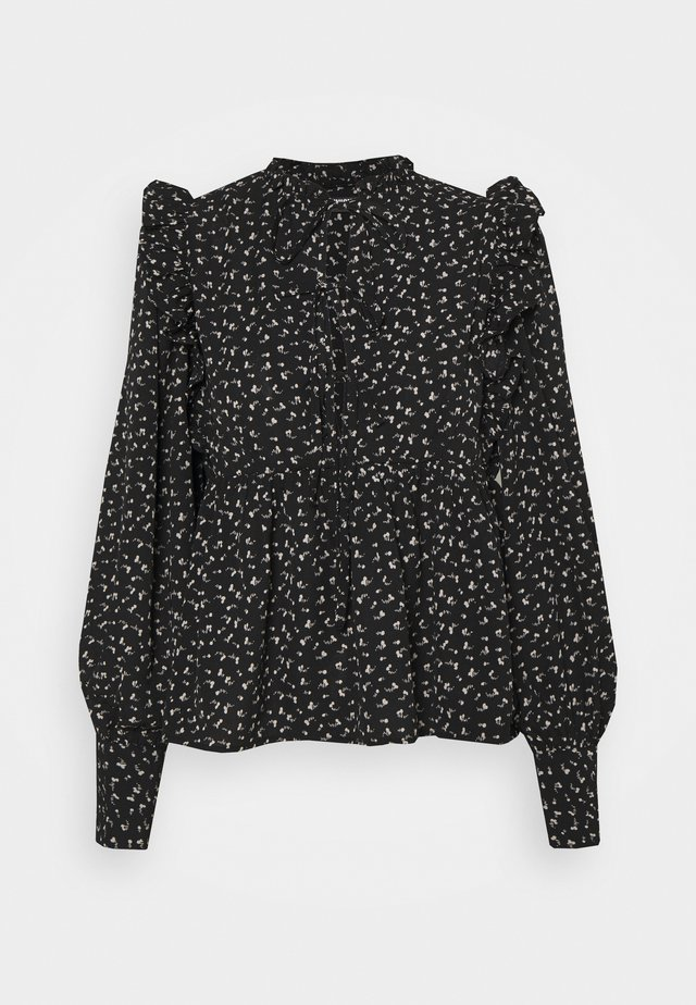 DEVON - Blouse - black