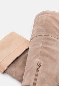 Zign - Overknee laarzen - beige - 5