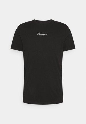 JPRBLASTAR TEE CREW NECK - T-shirt print - black