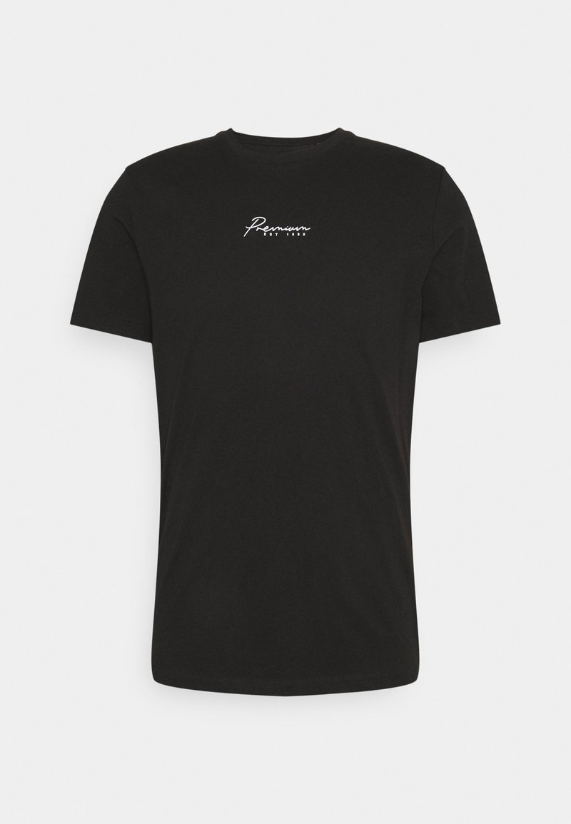 Jack & Jones PREMIUM - JPRBLASTAR TEE CREW NECK - T-shirt z nadrukiem - black