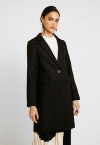New Look - LEAD IN COAT - Kort kåpe / frakk - charcoal - 0