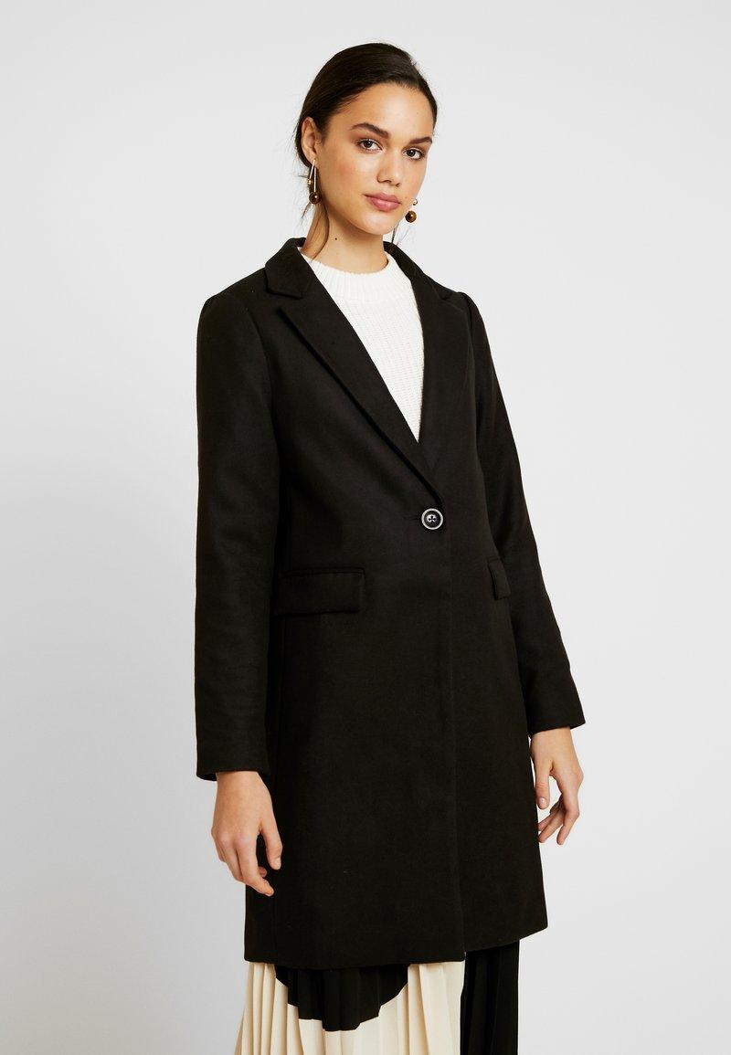 New Look - LEAD IN COAT - Kort kåpe / frakk - charcoal