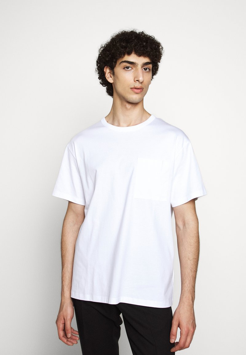 Filippa K - BRAD - Basic T-shirt - white